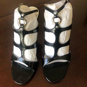 Vintage BCBG patent leather heels.